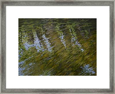 Canoe Painting 3 Framed Print by Jason Sawtelle