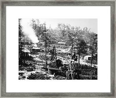 Oil: Pennsylvania, 1863 Framed Print by Granger