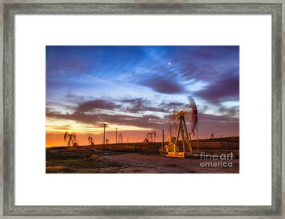 Oil Rigs 3 Framed Print