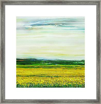 Oil Seed Rape Tyndale No3 Framed Print by Mike   Bell