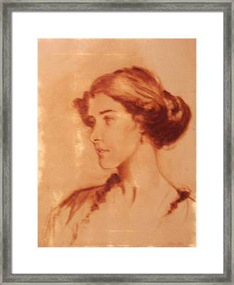 Oil Sketch Framed Print by David Olander