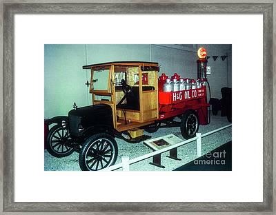 Oil Wagon Framed Print by Bob Phillips