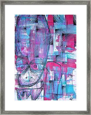 Ojo Framed Print
