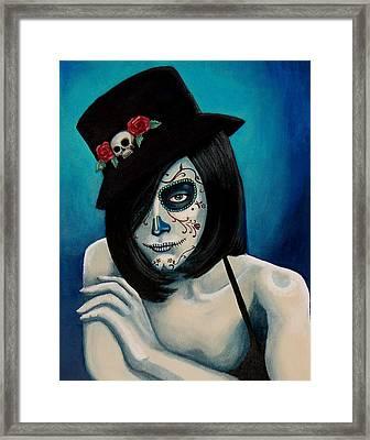 Ojos Triste Framed Print