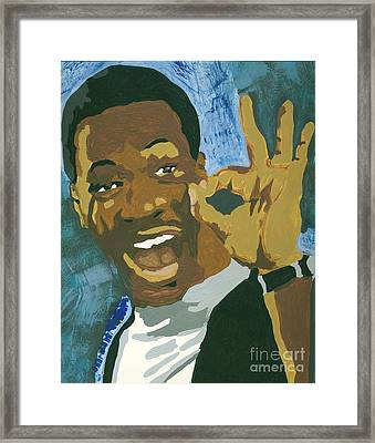 Ok Eddie Framed Print by JJ Burner