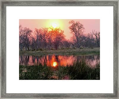 Okavango Delta Framed Print