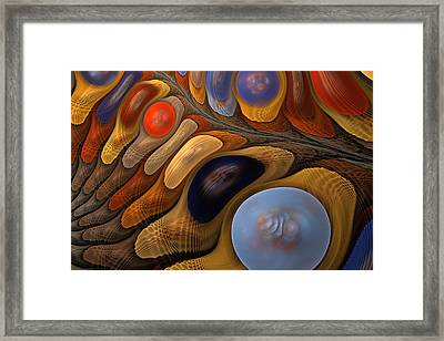 O'keeffe's Pebbles In A Stream Framed Print