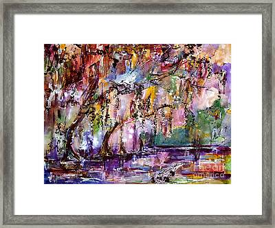 Okefenokee Mystic Magic Framed Print by Ginette Callaway