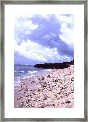 Okinawa Beach 15 Framed Print by Curtis J Neeley Jr