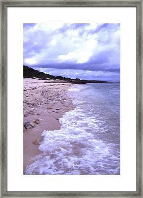 Okinawa Beach 17 Framed Print by Curtis J Neeley Jr