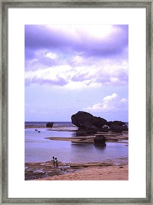 Okinawa Beach 20 Framed Print by Curtis J Neeley Jr