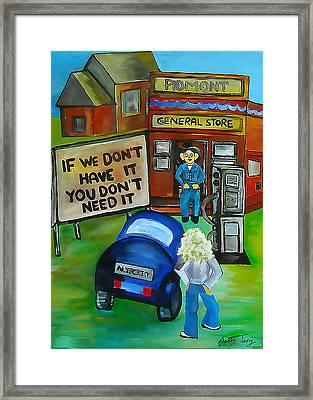 Oklahoma 79' Framed Print