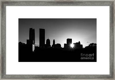 Framed Print featuring the photograph Oklahoma City by Betty LaRue