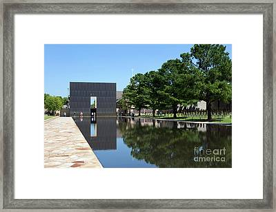 Oklahoma City National Memorial Bombing Framed Print
