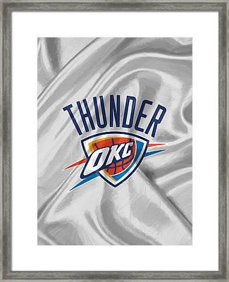 Oklahoma City Thunder Framed Print