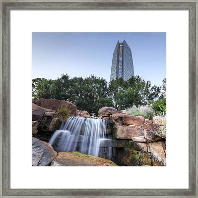Oklahoma City Framed Print by Twenty Two North Photography