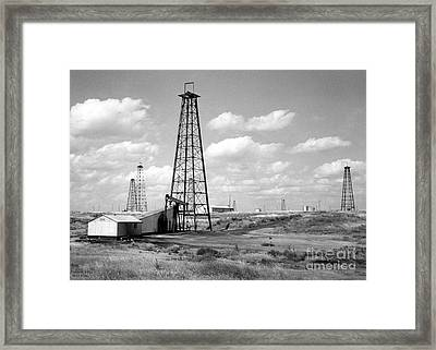 Oklahoma Crude Framed Print