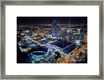 Okt001-26 Framed Print by Cooper Ross