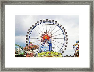 Oktoberfest 2010 Munich Framed Print by Robert Meyers-Lussier