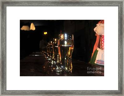 Oktoberfest Time Framed Print