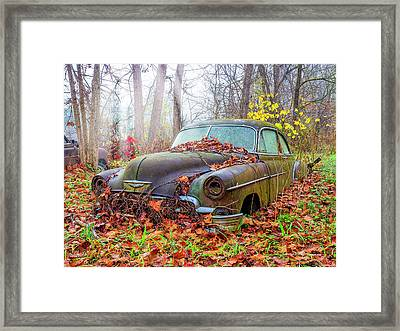 Ol' 49 Chevy Coupe Framed Print