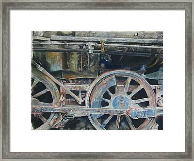 Ol' 97 Framed Print by Dwight Williams