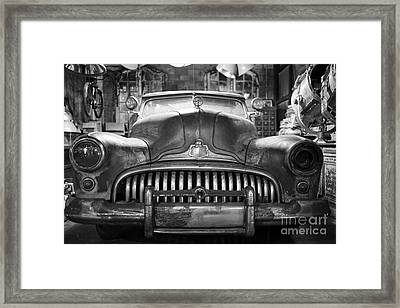 Framed Print featuring the photograph Ol' Buick Eight by Dean Harte