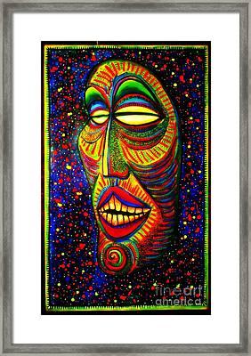 Ol' Funny Face Framed Print
