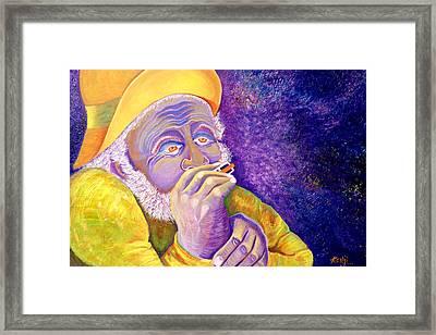 Ol Man Framed Print