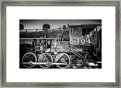 Ol' No. 104 Framed Print