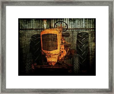 Ol Yeller Framed Print by Ernie Echols