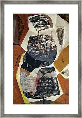 Ol1957bo001 Abstract Landscape Of Potosi Bolivia 22 X 36 Framed Print