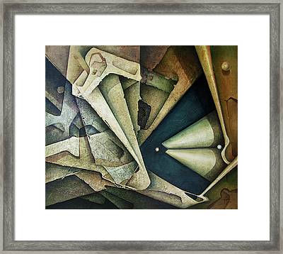Ol1976ny001 Sideral Space 58x49 Framed Print