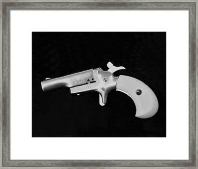 Old 22 Caliber Derringer Framed Print