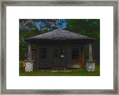 Old 86 2 Framed Print by David A Brown