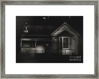 Old Abandoned Haunted House Of Horrors Framed Print by Jorgo Photography - Wall Art Gallery