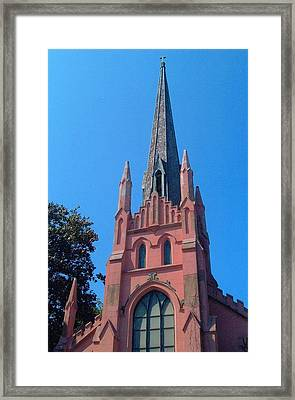 Old Abbeville Church Framed Print by Larry Bishop