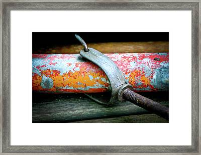 Old Age Isnt So Bad Framed Print by Laura Pineda