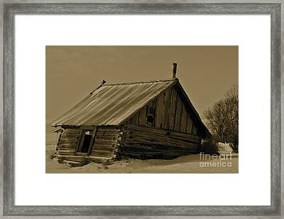 Old Age Framed Print by Rick  Monyahan