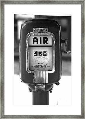 Old Air Pump Framed Print by Arni Katz