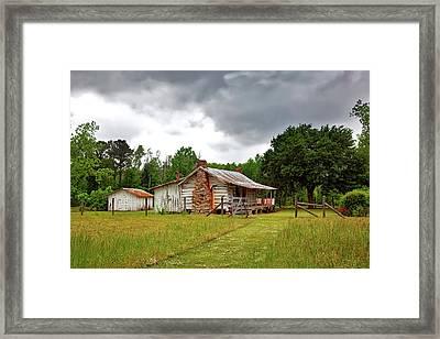 Old Alabama Homestead Framed Print by Mountain Dreams