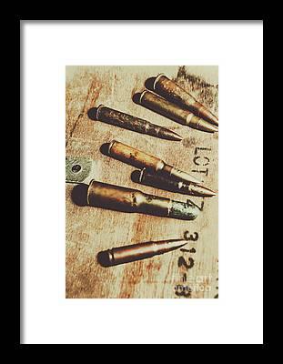Ammunition Framed Prints