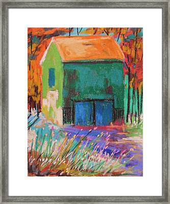 Old And Green  Framed Print by John Williams