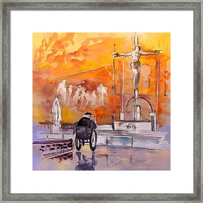 Old And Lonely In Portugal 02 Framed Print by Miki De Goodaboom