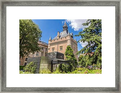 Old And New Architecture In Toulouse Framed Print by Georgia Fowler