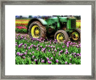 Old And New Framed Print by Bonnie Bruno