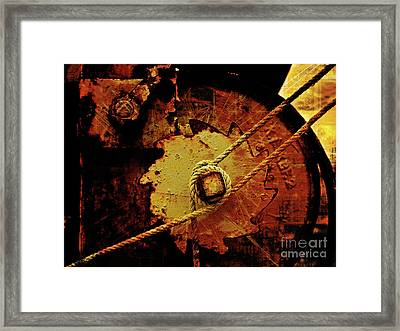 Old And New Composing Framed Print by Lutz Baar