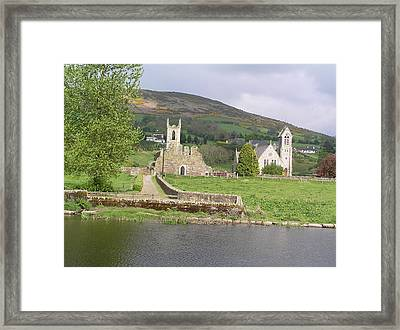 Old And New Framed Print by Jeanette Oberholtzer