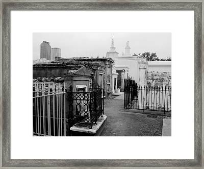 Old And New Framed Print by Linda Kish