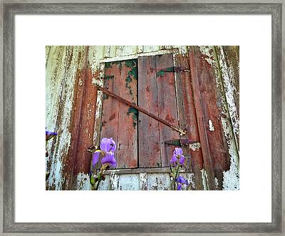 Framed Print featuring the photograph Old And New by Olivier Calas